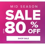 Select Fashion: Mid Season Sale up to 80% off