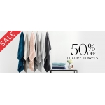 Sheridan: Sale 50% off luxury towels