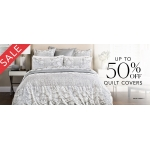 Sheridan: up to 50% off quilt covers