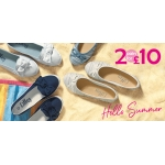 Shoe Zone: 2 pairs of shoes for £10
