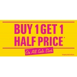 Shoe Zone: buy one and get one half price