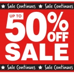 Shoe Zone: Sale up to 50% off women's, men's and kids' footwear