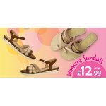Shoe Zone: womens sandals from £12.99