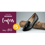 Shoe Zone: selected womens loafers £9.99