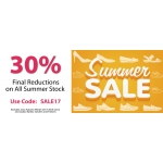 Shoes International: Summer Sale 30% off shoes