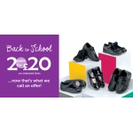Shoe Zone: 2 pairs of shoes for £20