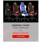 ShopTo: gaming chair from £100