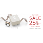 Silver By Mail: Summer Sale 25% off silver jewellery collections