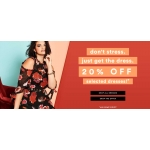 Simply Be: 20% off dresses collection
