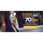 SmartBuyGlasses: Sale up to 70% off huge selection of designer eyewear