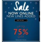 Sock Shop: Sale up to 75% off ladies' and men's socks