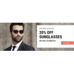 Sunglasses Shop: 20% off designer sunglasses