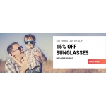 Sunglasses Shop: 15% off sunglasses
