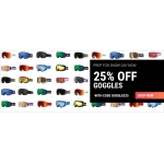 Sunglasses Shop: 25% off goggles
