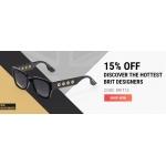 Sunglasses Shop: 15% off designer sunglasses