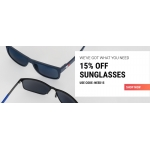 Sunglasses Shop: 15% off designer sunglasses