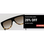 Sunglasses Shop: 20% off Celine sunglasses