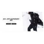 Superdry: 30% off womens and mens ski clothing