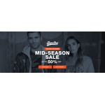 Superdry: Mid-Season Sale up to 50% off womens and mens clothing