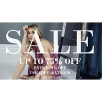 TFNC London: Sale up to 75% and extra 10% off dresses