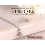 T. H. Baker: 50% off diamonds