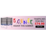 TJ Hughes: trampolines from only £74,99