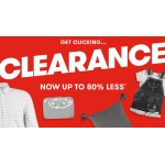TK Maxx: Sale up to 80% off womens, mens, kids and homeware items