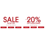 TReds: 20% off womens and mens shoes