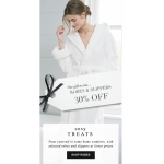 The White Company: 30% off robes & slippers