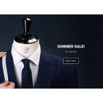 Tailorstore: Summer Sale up to 50% off suits, shirts, trousers, knits & polos, outerwear and accessories