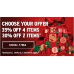 The Body Shop: up to 35% off for XMAS