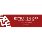 The Hut: Sale extra 15% off fashion & homeware