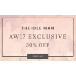 The Idle Man: 30% off men's clothing