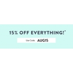 Tokyo Laundry: 15% off women's and men's fashion