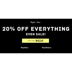 Tokyo Laundry: 20% off women's and men's fashion