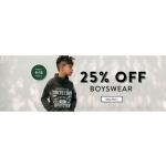 Tokyo Laundry: 25% off boyswear