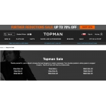 Topman: Sale up to 70% off men's fashion