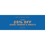 Topman: 25% off jeans, hoodies & sweats