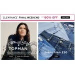 Topman: Sale up to 80% off mens clothing, shoes and accessories