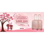 Travel Luggage & Cabin Bags: save 10% off when you buy two single cases or bags