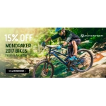 Tweeks Cycles: 15% off Mondraker 2017 Mountain Bikes