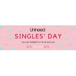 Unineed: 11% off cosmetics, bags and accessories