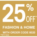 Vertbaudet: 25% off fashion & home