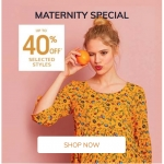 Vertbaudet: up to 40% off maternity fashion