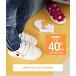 Vertbaudet: up to 40% off kids shoes