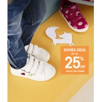 Vertbaudet: up to 25% off kids shoes
