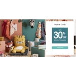 Vertbaudet: up to 30% off selected homeware products