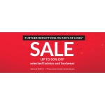 Very: Sale up to 50% off selected fashion and footwear