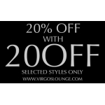 Virgos Lounge: 20% off clothing, shoes and accessories