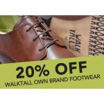 Walktall: 20% off walktall own brand footwear